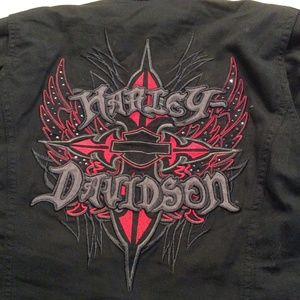 Harley Davidson women's 3 in 1 Jacket&accessories